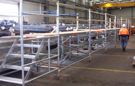 Alulite Aluminium Scaffolding