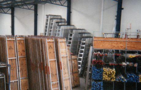 alulite scaffolding warehouse