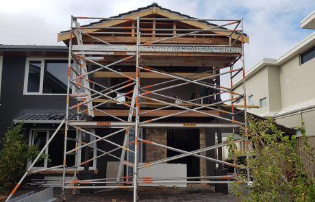 Alulite Scaffolding House